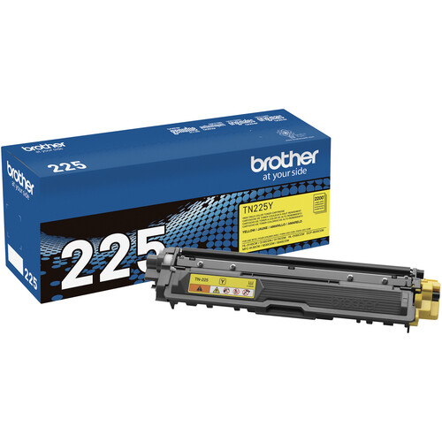 Brother TN225Y High Yield Yellow Toner Cartridge