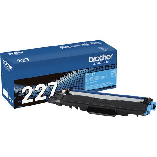 Brother TN227C High-Yield Toner Cartridge (Cyan)