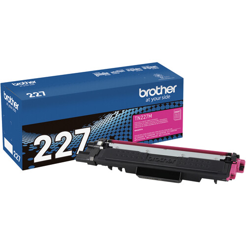 Brother TN227M High-Yield Toner Cartridge (Magenta)