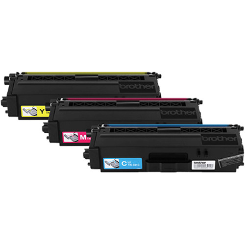 Brother TN3313PK Standard Yield Color Toner Cartridge (3-Pack)