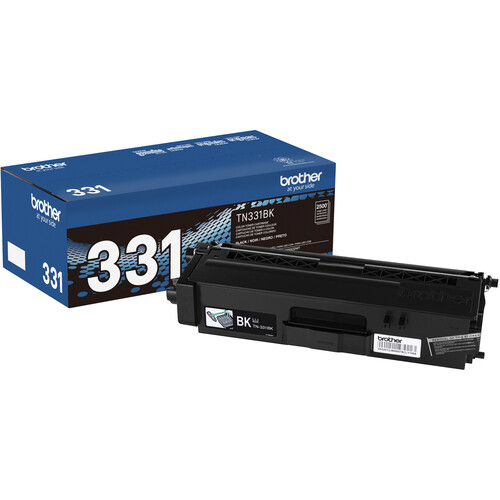 Brother TN331BK Standard Yield Black Toner Cartridge
