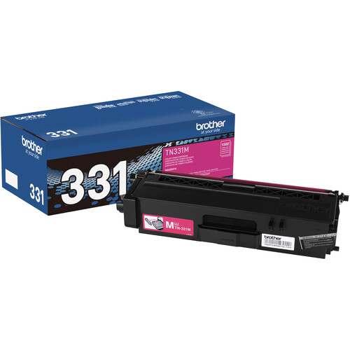 Brother TN331M Standard Yield Magenta Toner Cartridge