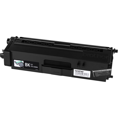 Brother TN336BK High Yield Black Toner Cartridge