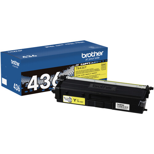 Brother TN436Y Yellow Super High-Yield Toner Cartridge