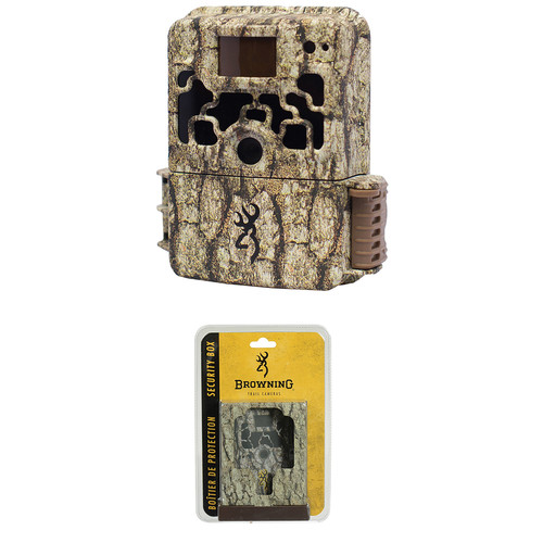 Browning Dark Ops HD Trail Camera and Security Box Kit