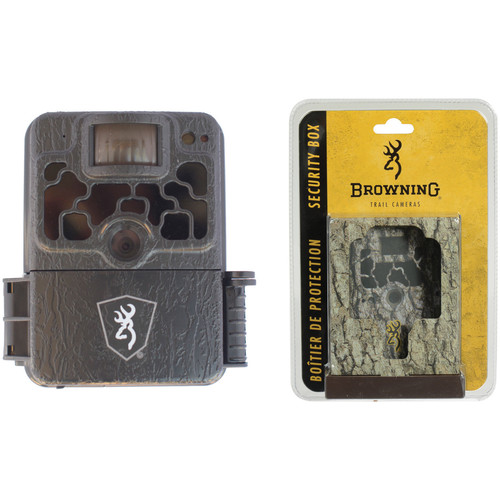 Browning HD Security Trail Camera and Security Box Kit