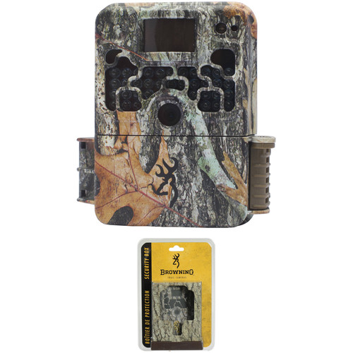 Browning Strike Force Elite HD Sub Micro Trail Camera and Security Box Kit (Camo)