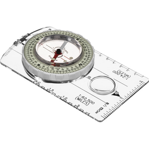 Brunton 8010 Classic Glow/Mils Global Map Compass
