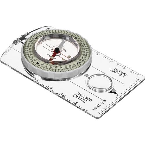 Brunton 8010 Classic Glow/Mils Global Map Compass
