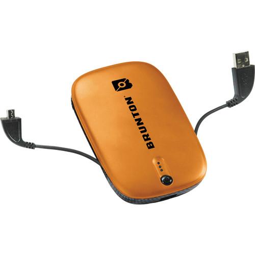 Brunton Heavy Metal 5500 Rechargeable Battery Pack (Orange)