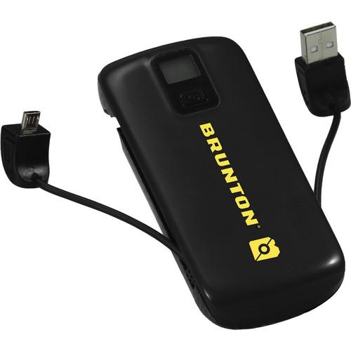 Brunton Metal 4400 Rechargeable Battery Pack (Black)