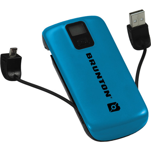 Brunton Metal 4400 Rechargeable Battery Pack (Blue)