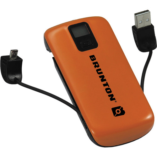 Brunton Metal 4400 Rechargeable Battery Pack (Orange)