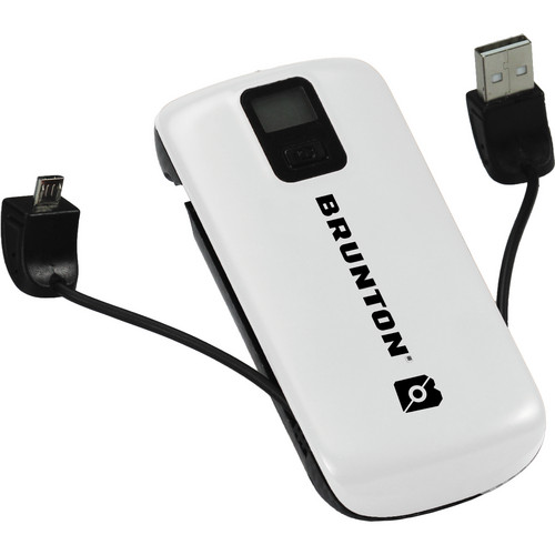 Brunton Metal 4400 Rechargeable Battery Pack (White)