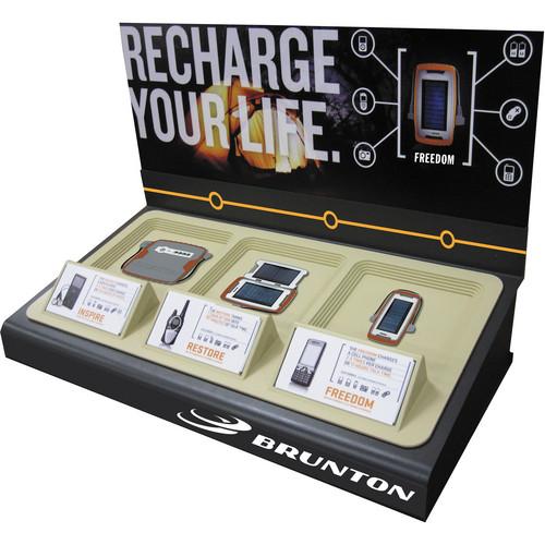Brunton Portable Power Countertop/Wall Display