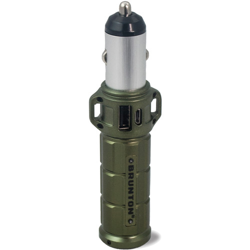 Brunton Torpedo 2600 Rechargeable Battery Pack (Outdoor Green)