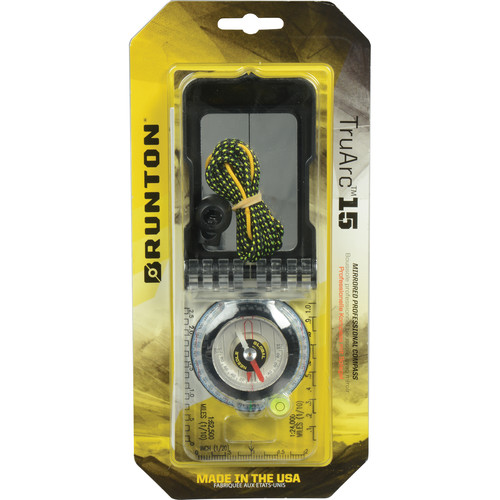 Brunton TruArc 15 Compass (Imperial Units)