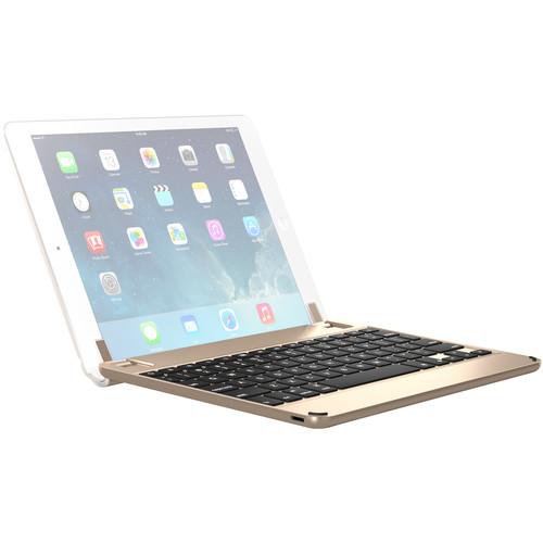 "Brydge 9.7 Bluetooth Keyboard Case for iPad Air, Air 2 iPad Pro 9.7"", & 2017 iPad (Gold)"