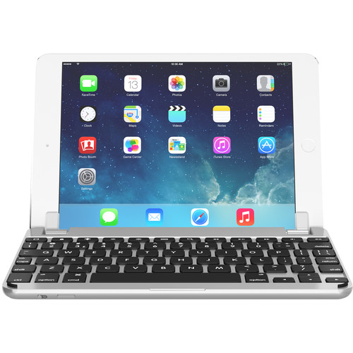 Brydge BrydgeMini I Bluetooth Keyboard for iPad mini 1/2/3 (Silver)
