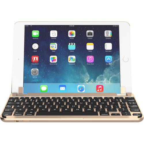 Brydge BrydgeMini I Bluetooth Keyboard for iPad mini 1/2/3 (Gold)