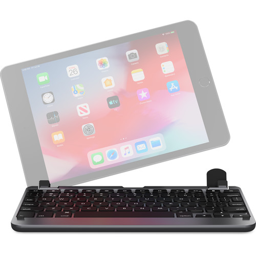 Brydge 7.9 Series 2 Wireless Backlit Keyboard for iPad mini 4 & 5 (Space Gray)