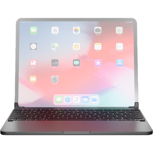 """Brydge Pro 12.9 Bluetooth Keyboard for 12.9"""" iPad Pro (Late 2018, Space Gray)"""