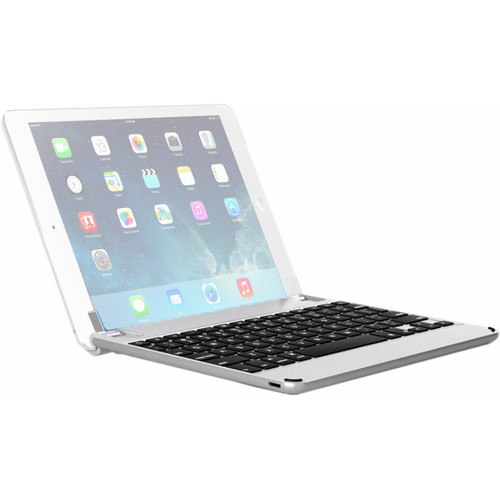 """Brydge 10.5 Bluetooth Keyboard for 10.5"""" iPad Pro and iPad Air 2019 (Silver)"""