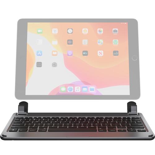 "Brydge Wireless Bluetooth Keyboard for 10.2"" iPad 2019 / 7th Gen (Space Gray)"