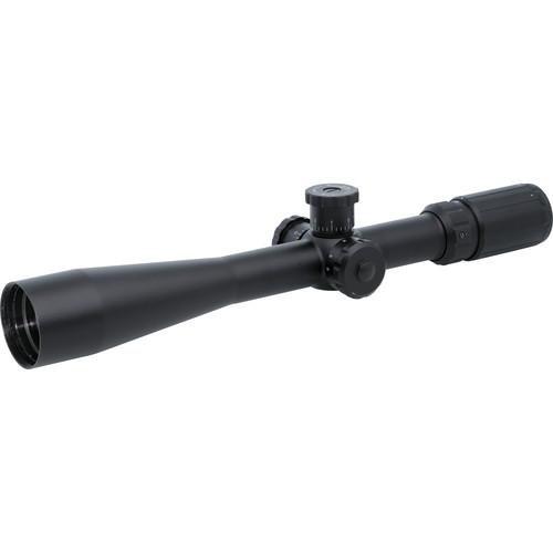 BSA Optics 6-24x44 Tactical Side Focus Riflescope (Mil-Dot Reticle, Matte Black)