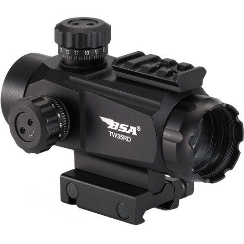 BSA Optics 1x35 TW Series Holographic Sight (5 MOA Dot)