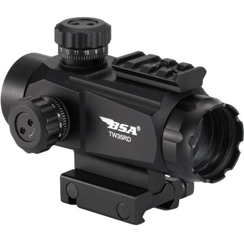 BSA Optics 1x35 TW Series Holographic Sight (5 MOA Dot)