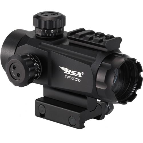 BSA Optics 1x35 Red / Green Dot Sight