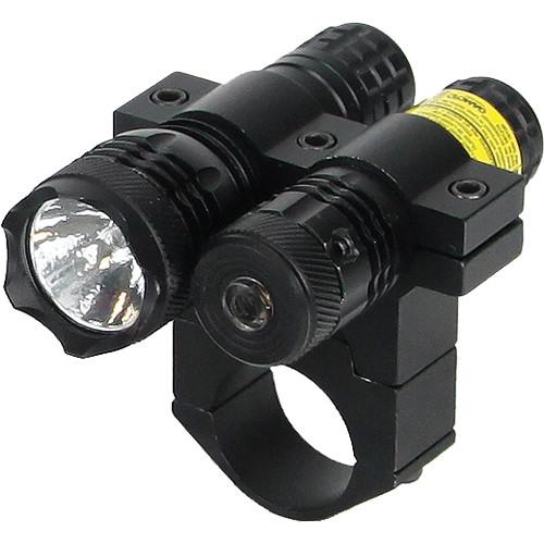 BSA Optics Red Dot Aiming Laser with 80 Lumen Flashlight
