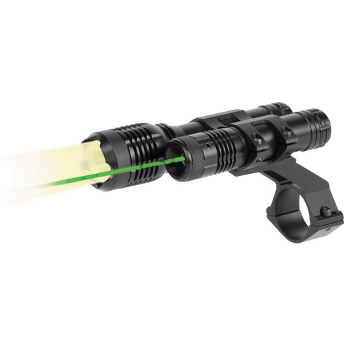 BSA Optics TW Series LED Light and Green Aiming Laser