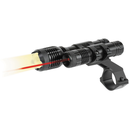 BSA Optics TW Series LED Light and Red Aiming Laser