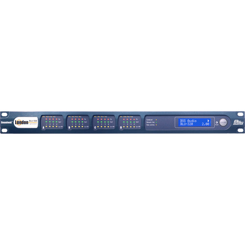 BSS Audio I/O Expander with BLU link and CobraNet (1 RU)