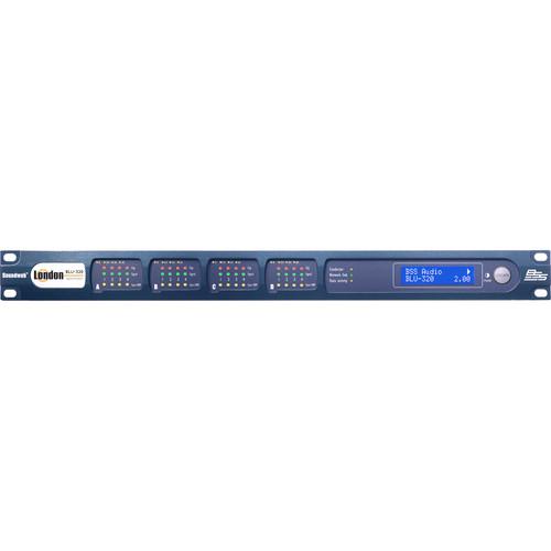 BSS Audio I/O Expander with BLU link and CobraNet (1 RU)