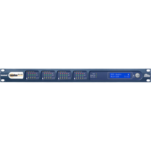 BSS Audio Input/Output Expander with BLU Link & Ethernet AVB Audio