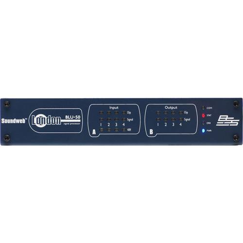 BSS Audio 4x4 Signal Processor with BLU Link