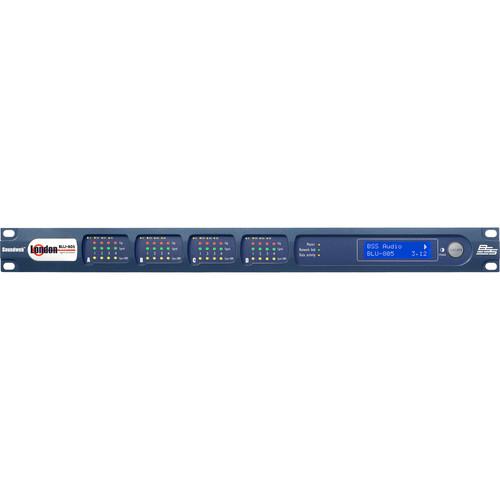 BSS Audio Signal Processor with BLU Link & Ethernet AVB Audio