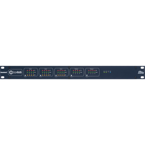 BSS Audio Soundweb London BLU-100 12x8 Signal Processor with BLU Link