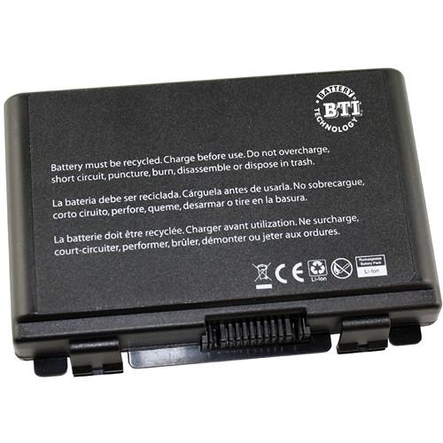 BTI 6-Cell Battery for Asus K40, K50, K60, K70XXX, F52 and F82 (Black)