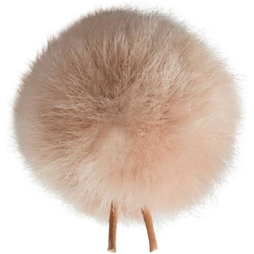 Bubblebee Industries Windbubble Miniature Imitation-Fur Windscreen (Lav Size 3, 40mm, Beige)