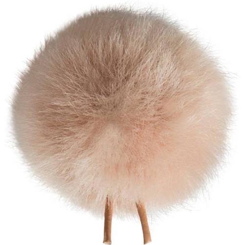 Bubblebee Industries Windbubble Miniature Imitation-Fur Windscreen (Lav Size 4, 42mm, Beige)