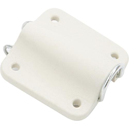 Bubblebee Industries Lav Concealer for Sennheiser MKE-2 (White)