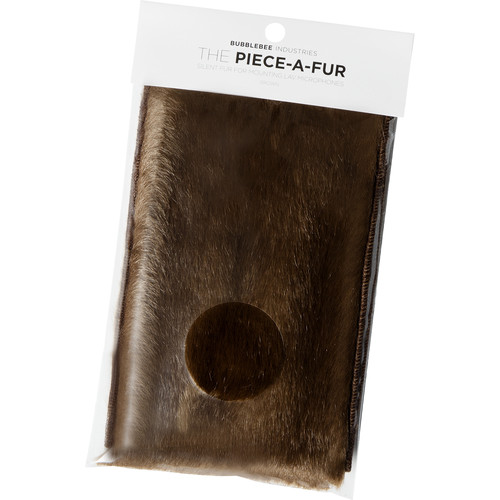 Bubblebee Industries The Piece-A-Fur Wind Protection (Brown)