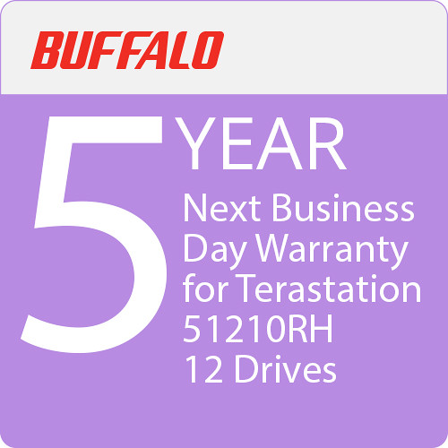 Buffalo 5-Year Next Business Day Warranty