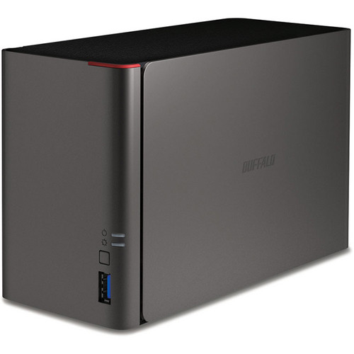 Buffalo 2TB (2 x 1TB) LS421DE LinkStation NAS Enclosure Kit with Drives