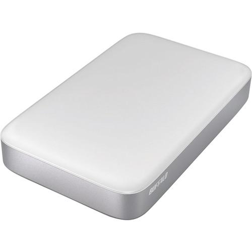 Buffalo 2TB MiniStation Thunderbolt/USB 3.0 Portable Drive with Cables