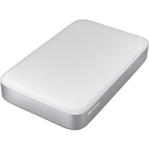 Buffalo 2TB MiniStation Thunderbolt/USB 3.0 Portable Drive with Cables